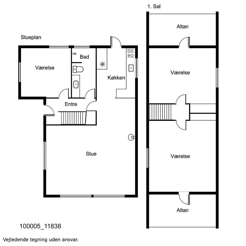 Innenausstattung 1-17 Ferienhaus 11838, Lærkelodden 10, DK - 4500 Nykøbing Sj