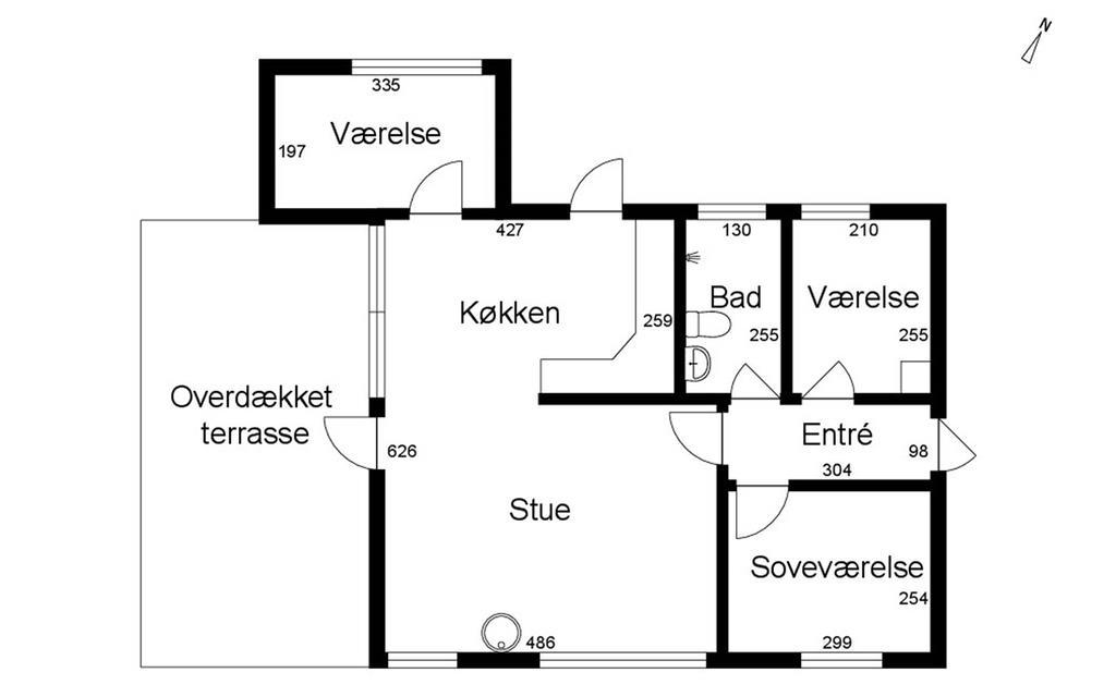 Innenausstattung 1-17 Ferienhaus 11139, Nordstrandsvej 128, DK - 4500 Nykøbing Sj