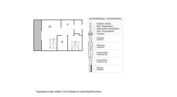 Indretning 1-3 Sommerhus L14320, Strandvejen 18, DK - 7800 Skive