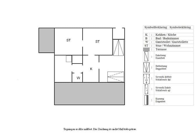 Indretning 1-3 Sommerhus L13150, Vestersvinget 4, DK - 7970 Redsted M