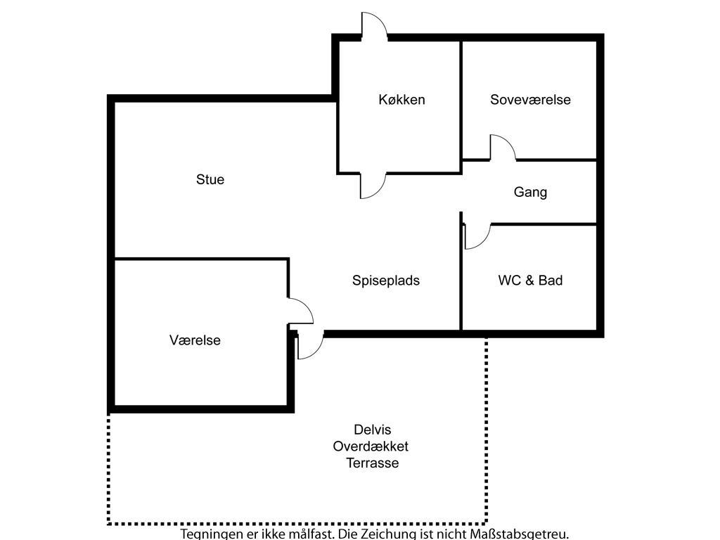 Indretning 1-6 Sommerhus N048, Havbakken 251, DK - 4736 Karrebæksminde