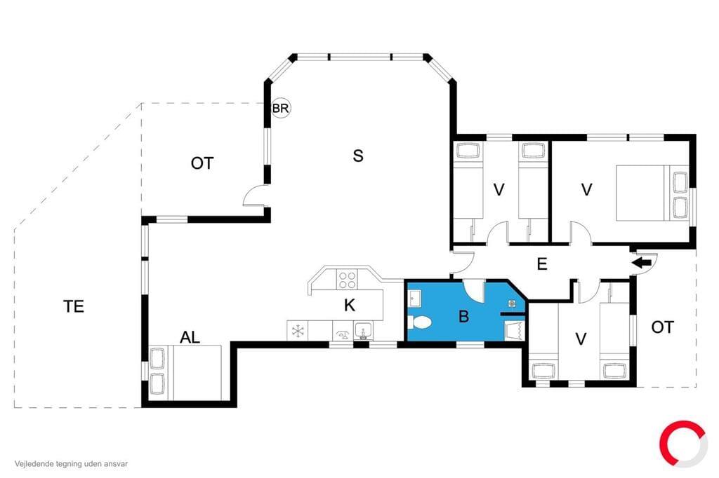 Interieur 1-19 Vakantiehuis 30157, Thorasvej 26, DK - 8300 Odder