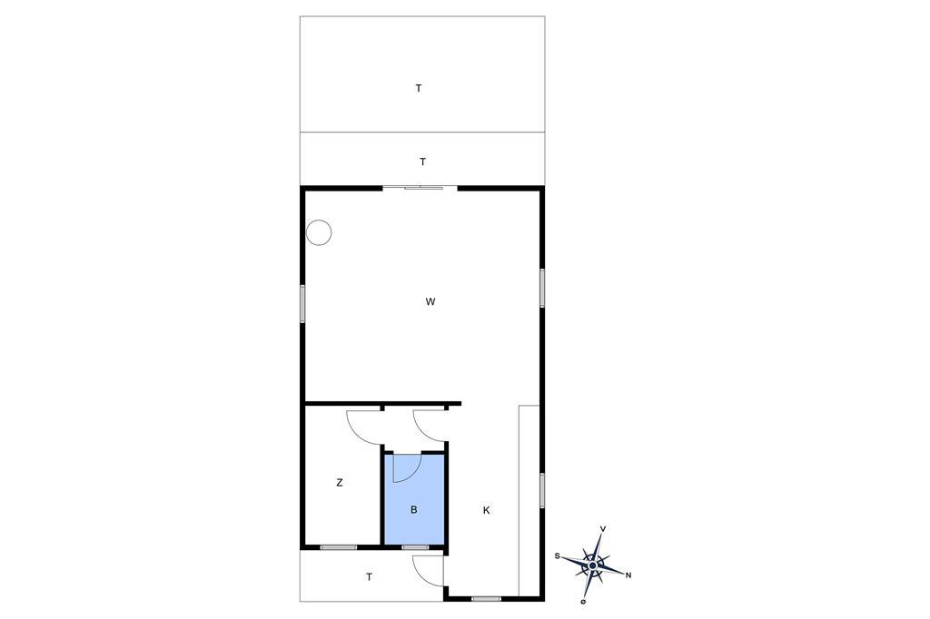 Innenausstattung 1-10 Ferienhaus 1592, Maegårdsskoven 12, DK - 3720 Aakirkeby