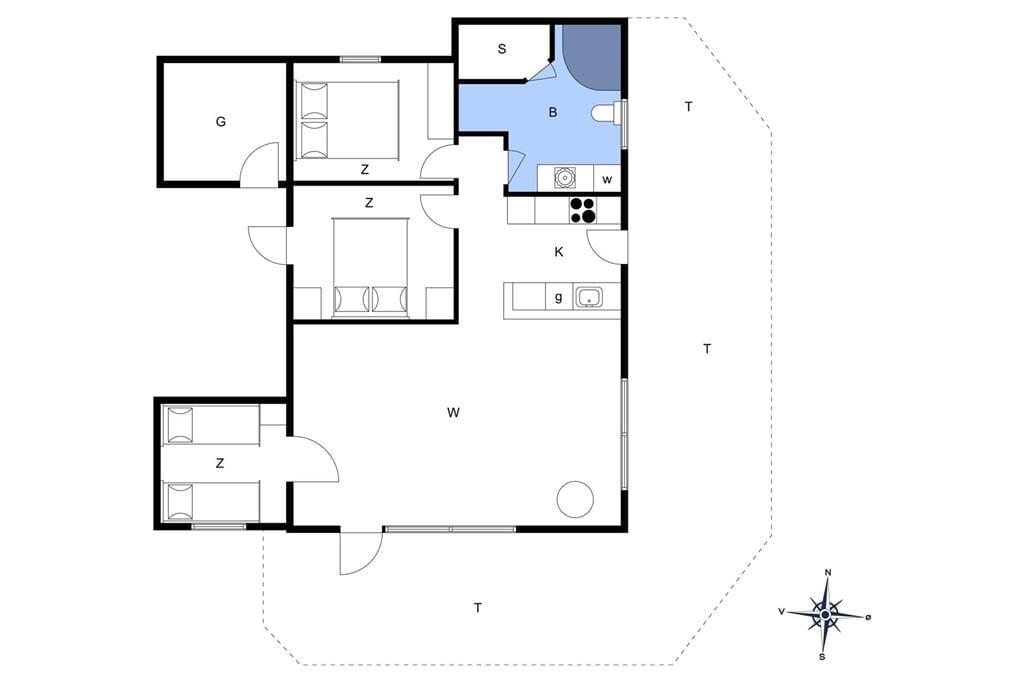 Interior 1-401 Holiday-home OH165, Bakkerne 2, DK - 9560 Hadsund