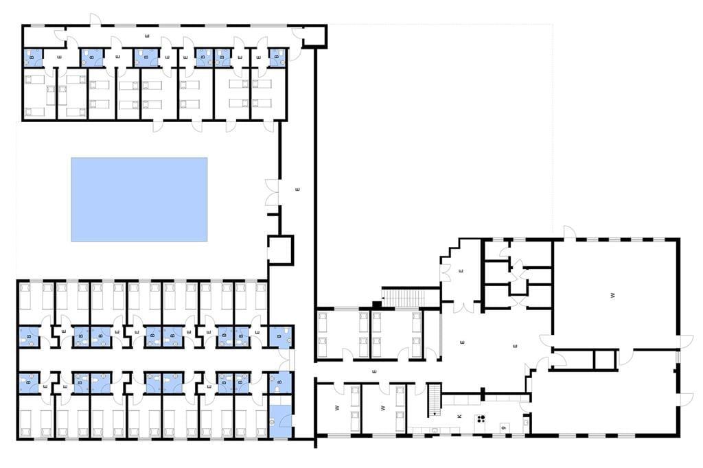 Indretning 1-3 Sommerhus M64310, Lille Brogårdsvej 12, DK - 5464 Brenderup Fyn