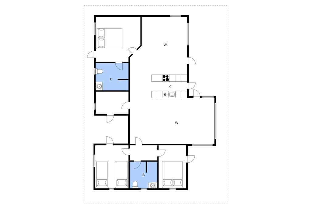 Interior 1-3 Holiday-home L15232, Jelsevej 165, DK - 7840 Højslev