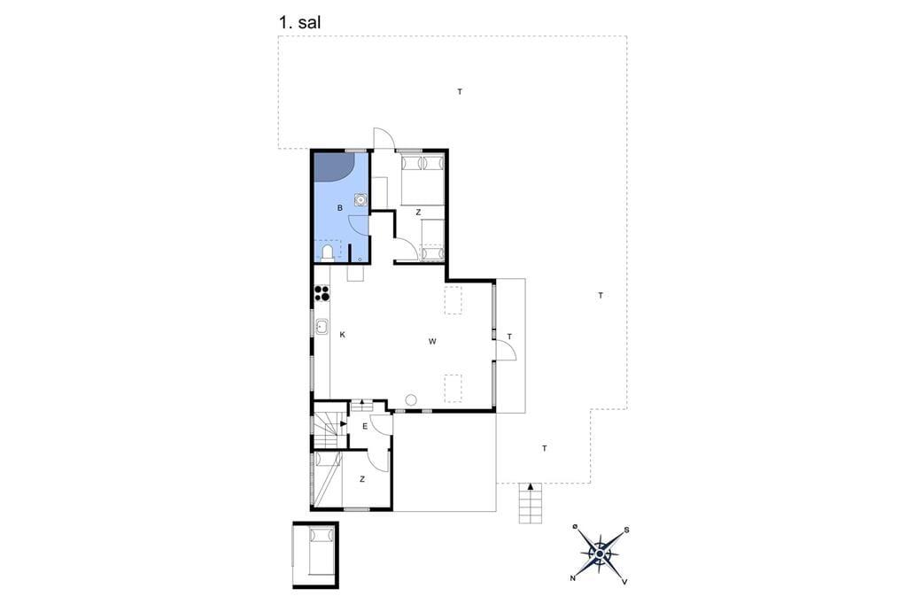 Innenausstattung 1-6 Ferienhaus N306, Klintegårdsvej 19, DK - 4736 Karrebæksminde