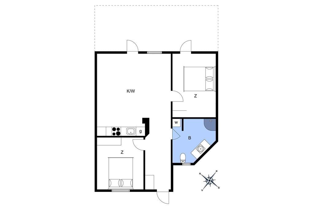 Innenausstattung 1-10 Ferienhaus 6769, Nordre Strandvej 131, DK - 3770 Allinge