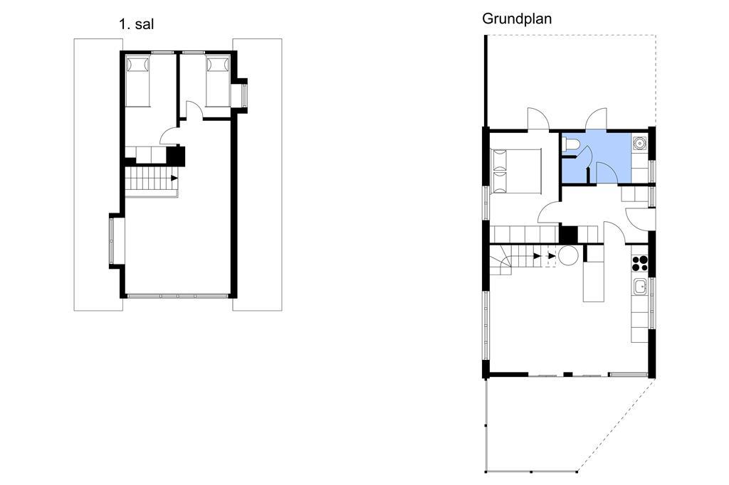 Innenausstattung 1-175 Ferienhaus 20316, Lyngvej 12, DK - 6990 Ulfborg