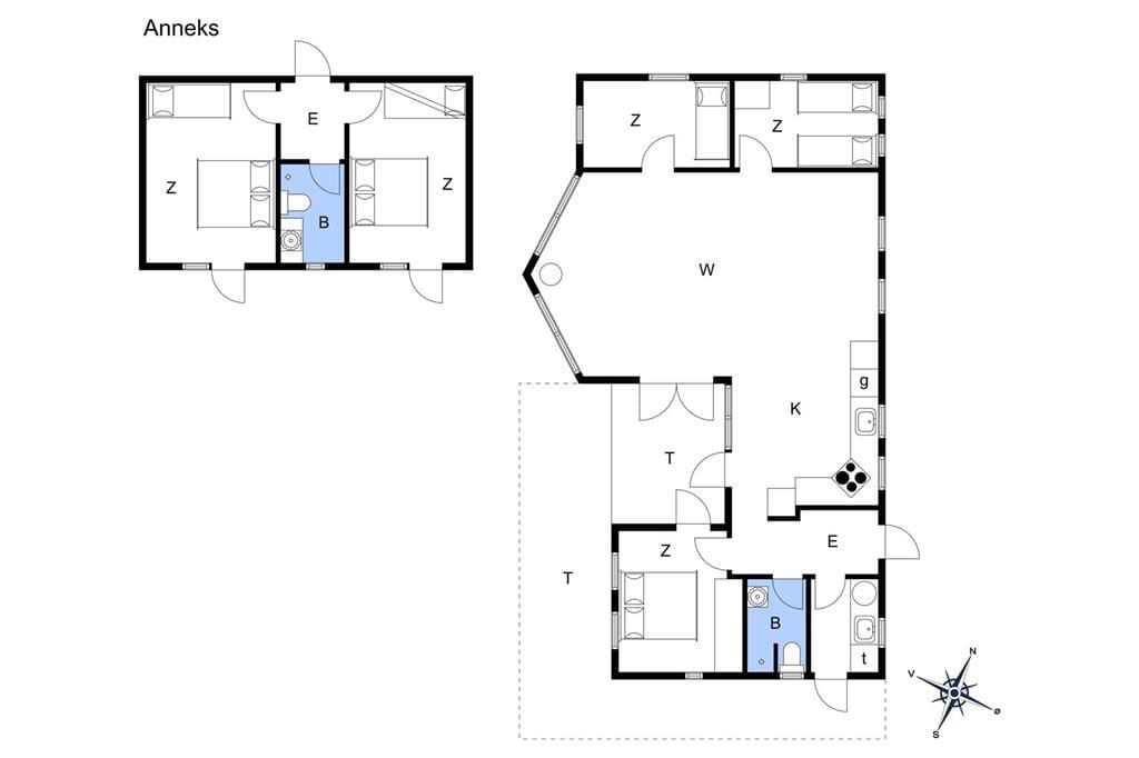 Interieur 1-17 Vakantiehuis 12230, Engvibevej 11, DK - 4583 Sjællands Odde