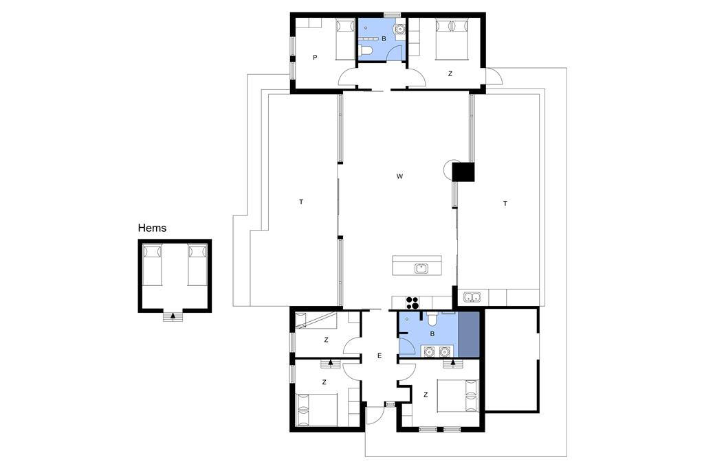 Interieur 1-23 Vakantiehuis 8201, Nykjærsvej 22, DK - 8420 Knebel