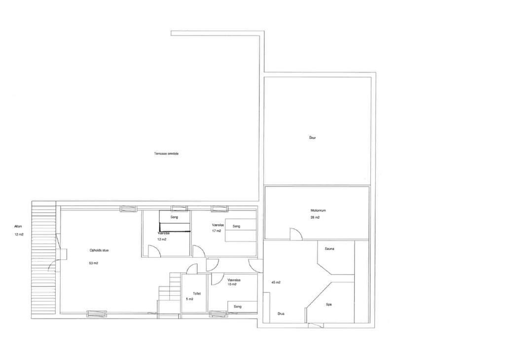 Indretning 1-20 Sommerhus 181, Vejlby Klit 78, DK - 7673 Harboøre