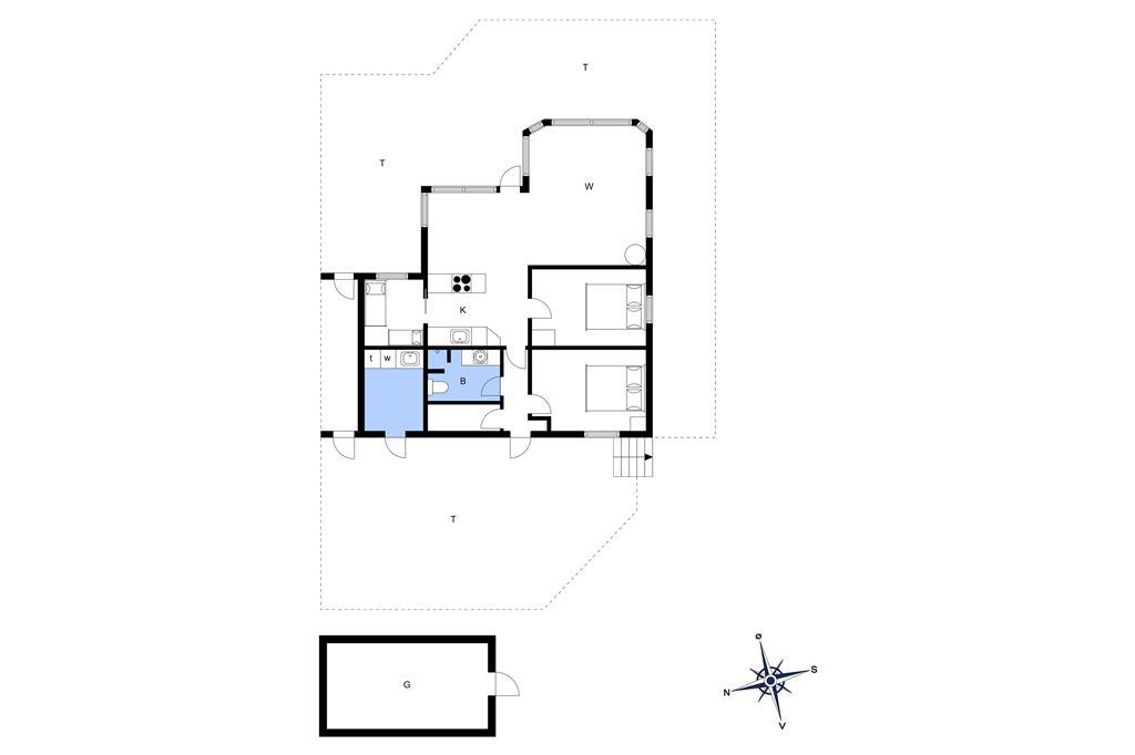 Interieur 1-3 Vakantiehuis F50254, Kildevej 4, DK - 7080 Børkop