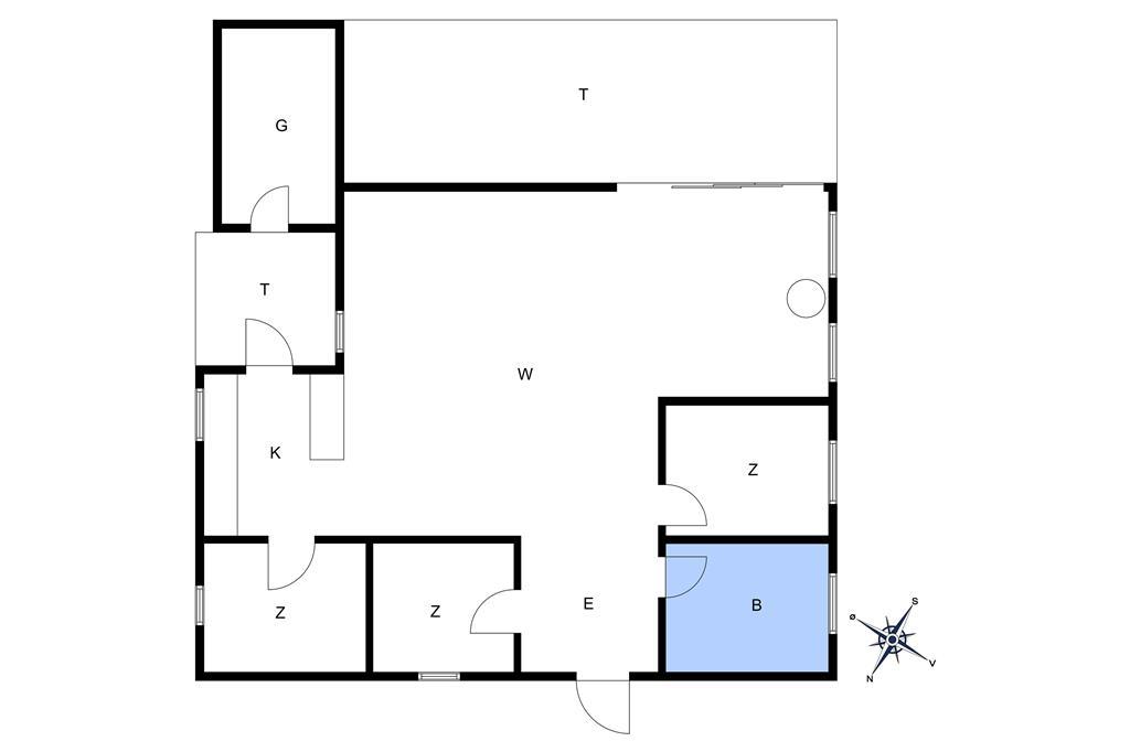 Indretning 1-10 Sommerhus 3509, Skelvej 1, DK - 3730 Nexø