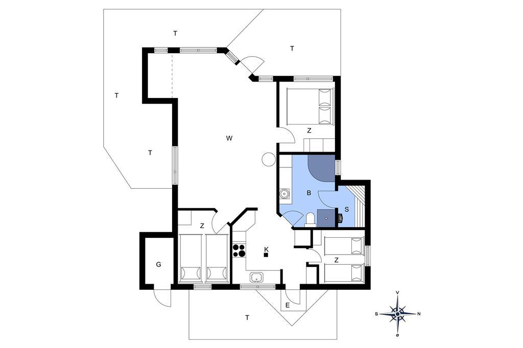 Innenausstattung 1-20 Ferienhaus 170, Neerlandiavej 3, DK - 7673 Harboøre