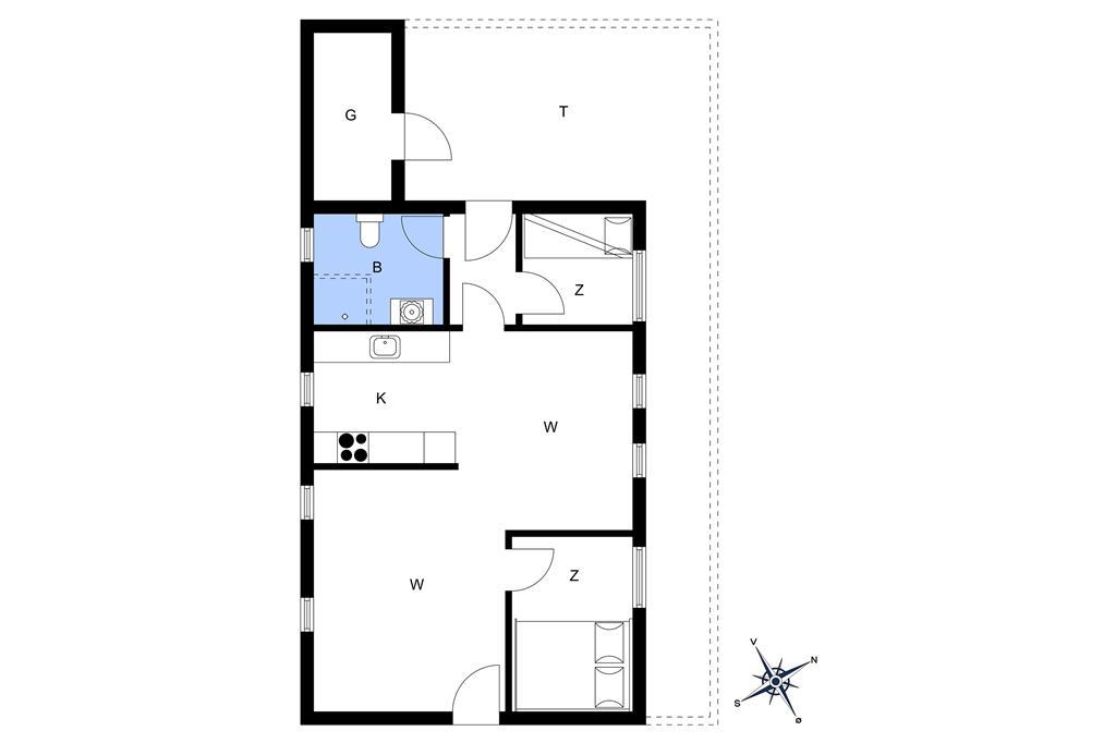 Interior 1-13 Holiday-home 199, Klitrosevej 62, DK - 7700 Thisted