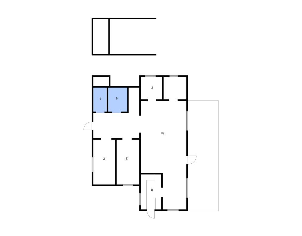 Indretning 1-10 Sommerhus 1523, Sjøstauan 15, DK - 3720 Aakirkeby