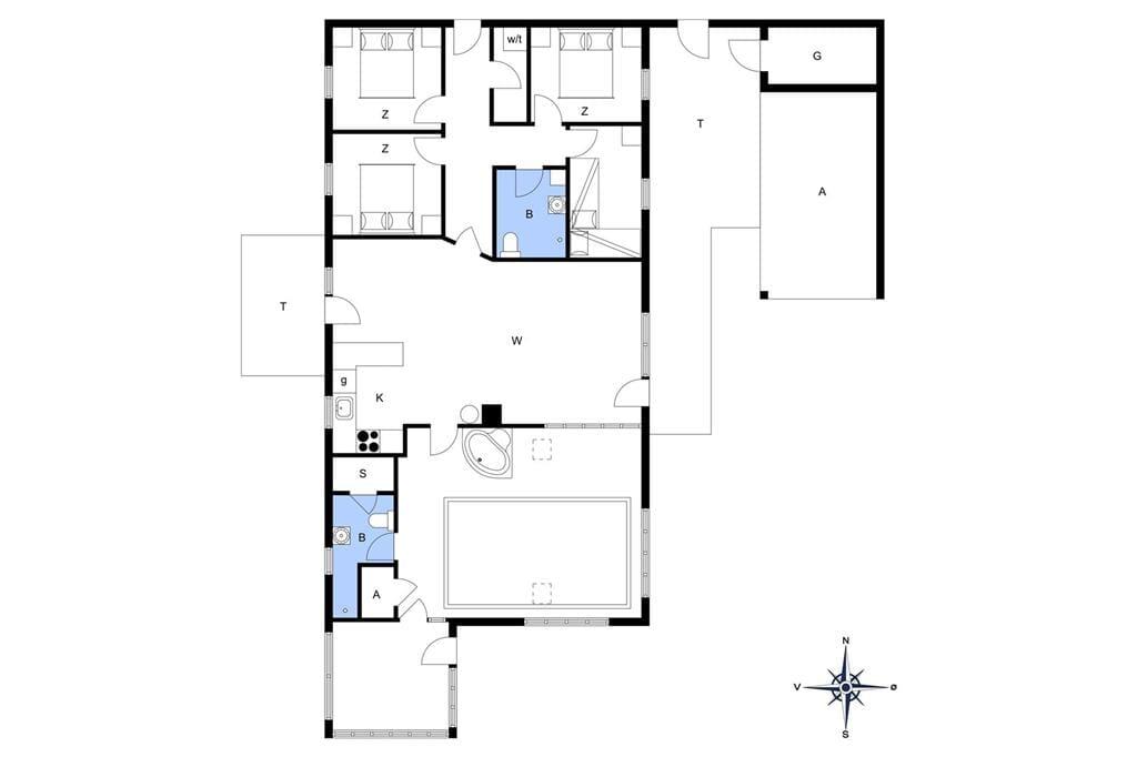 Indretning 1-13 Sommerhus 650, Ørredvej 9, DK - 7700 Thisted