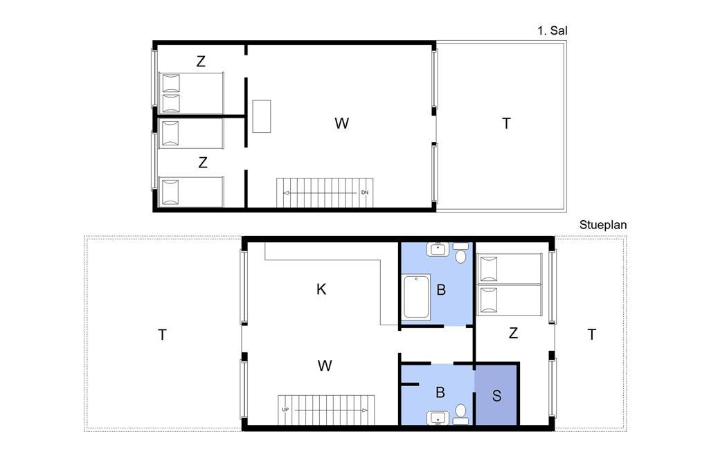"Interieur 1-22 Vakantiehuis C11503, ""AN-MAJA"", Molen 11, DK - 6893 Hemmet"