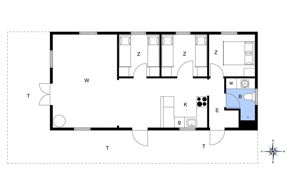 Innenausstattung 1-11 Ferienhaus 0311, Strandskaden 10, DK - 6792 Rømø
