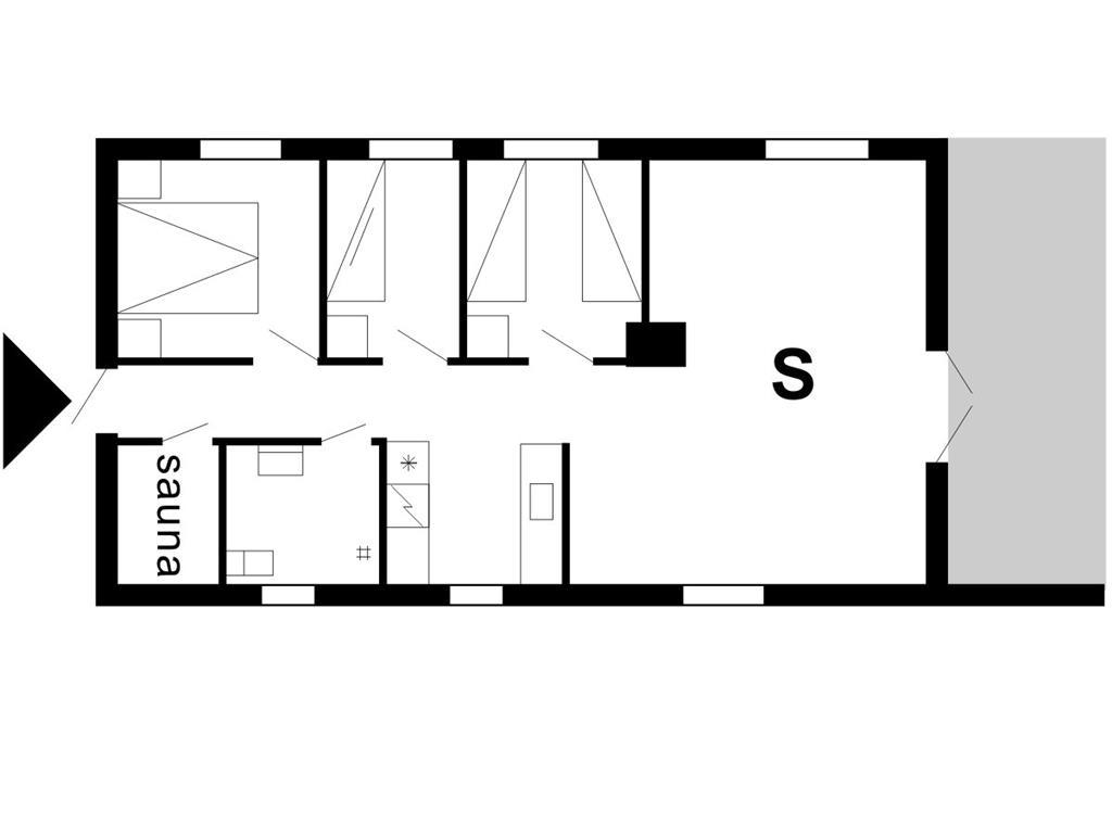 Indretning 1-175 Sommerhus 10260, Bækbyvej 92, DK - 6990 Ulfborg