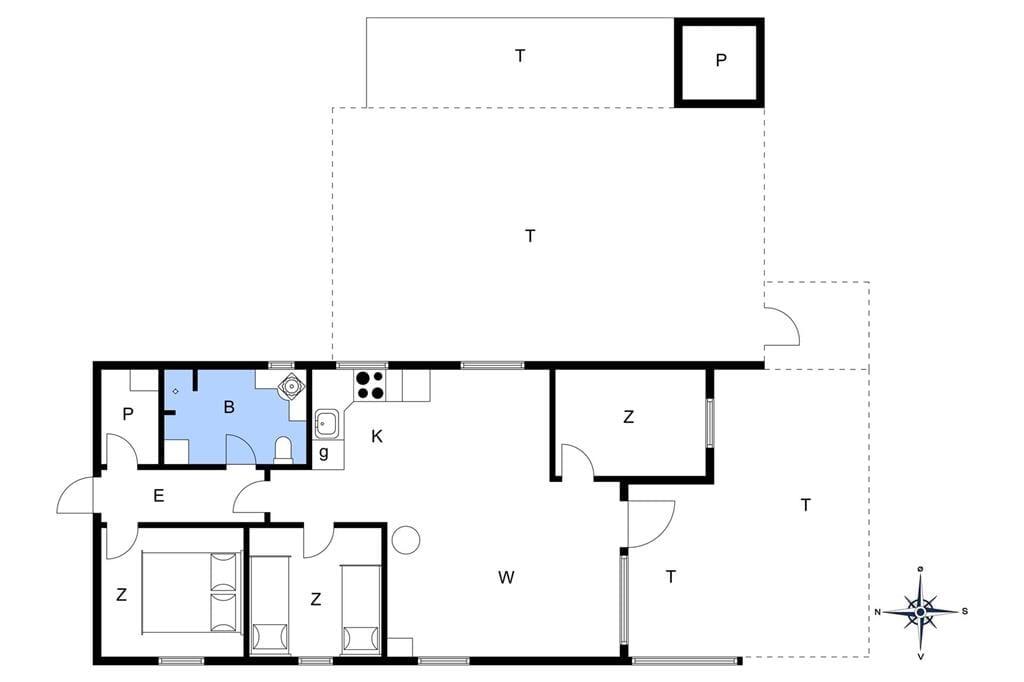 Interior 1-176 Holiday-home BL380, Rødhus Skolevej 1, DK - 9490 Pandrup