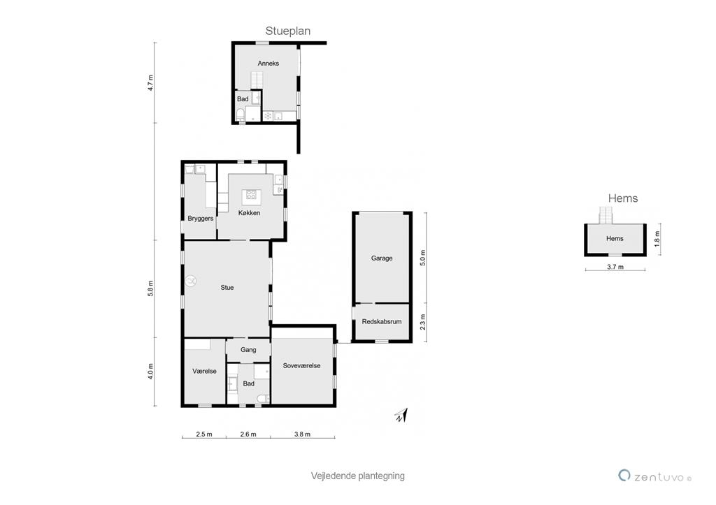 Innredning 1-23 Feirehus 8417, Fiskervej 47, DK - 8400 Ebeltoft