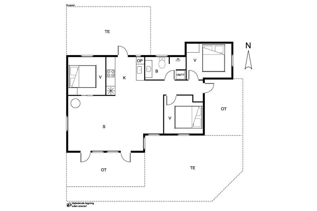 Interieur 1-19 Vakantiehuis 30309, Hougaardsvej 6, DK - 8300 Odder
