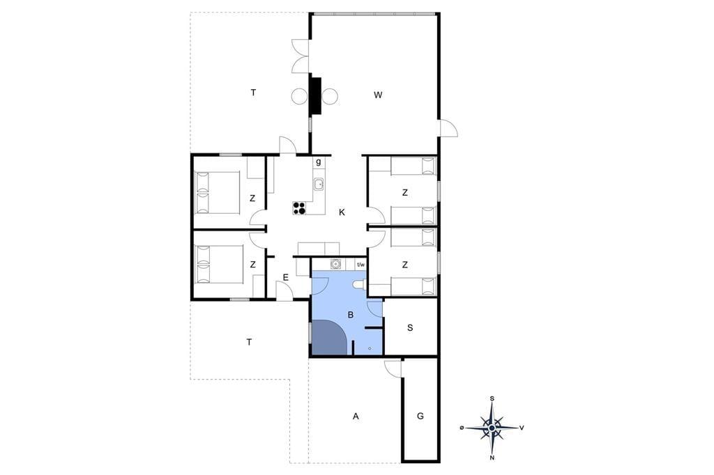 Innenausstattung 1-3 Ferienhaus M643012, Molevej 12, DK - 5466 Asperup