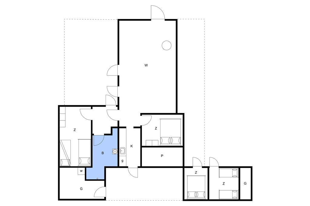 Innenausstattung 1-3 Ferienhaus M64562, Niels Eriksens Vej 3, DK - 5450 Otterup