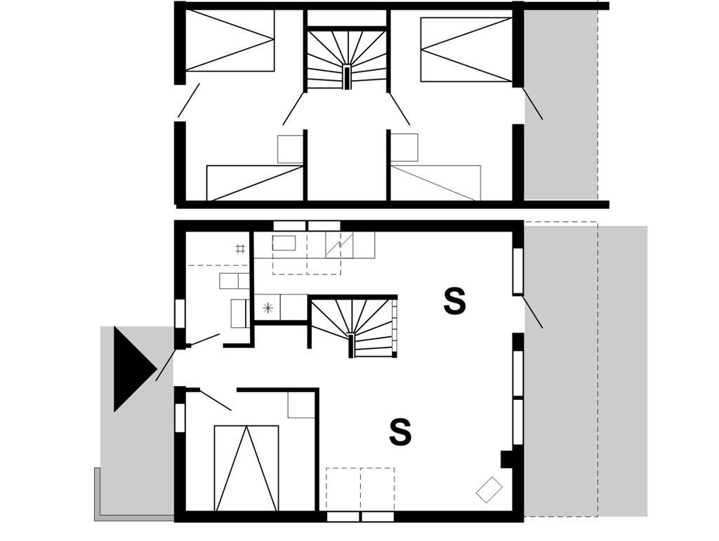 Indretning 1-175 Sommerhus 40174, Helmklit 241, DK - 6990 Ulfborg