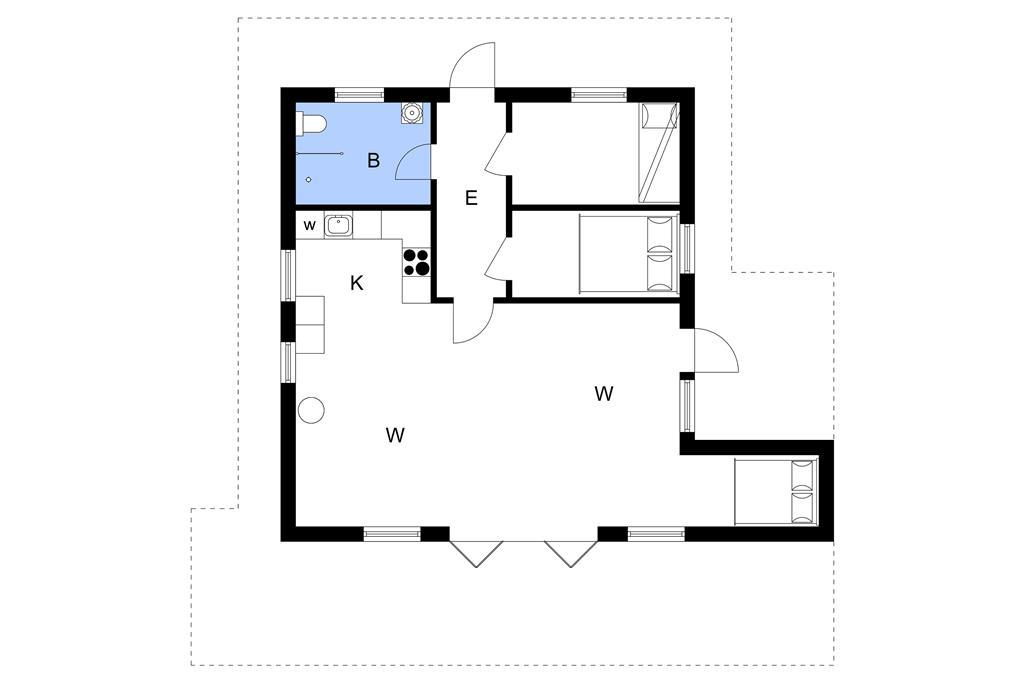 Innenausstattung 1-3 Ferienhaus L11111, Granvej 11, DK - 7600 Struer