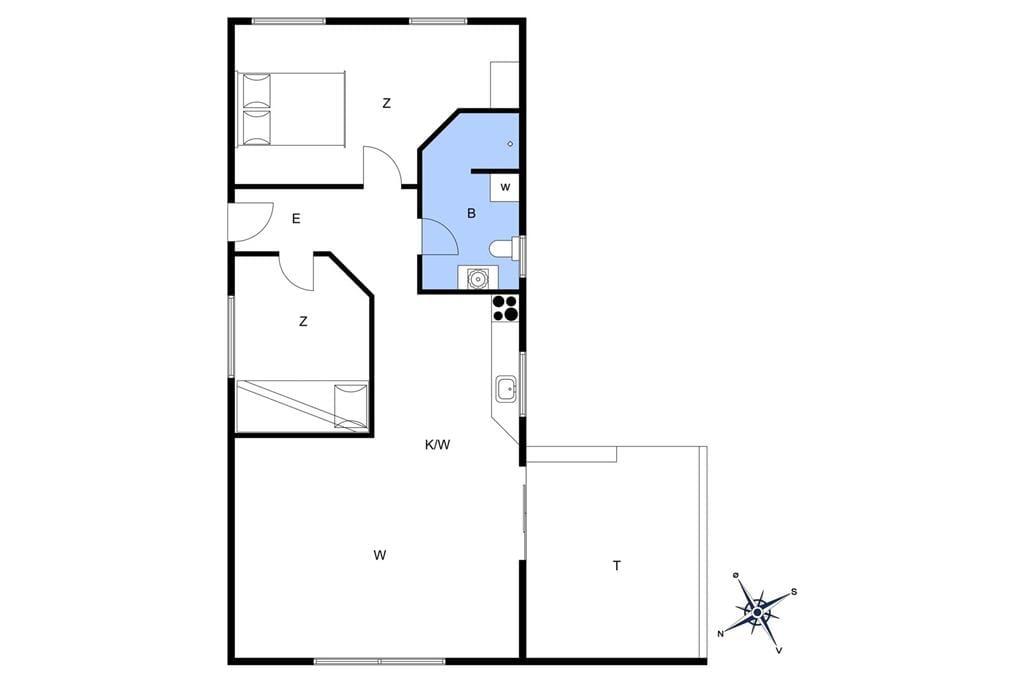Interieur 1-401 Vakantiehuis HA244, Nygaardsstrand 9, DK - 9370 Hals