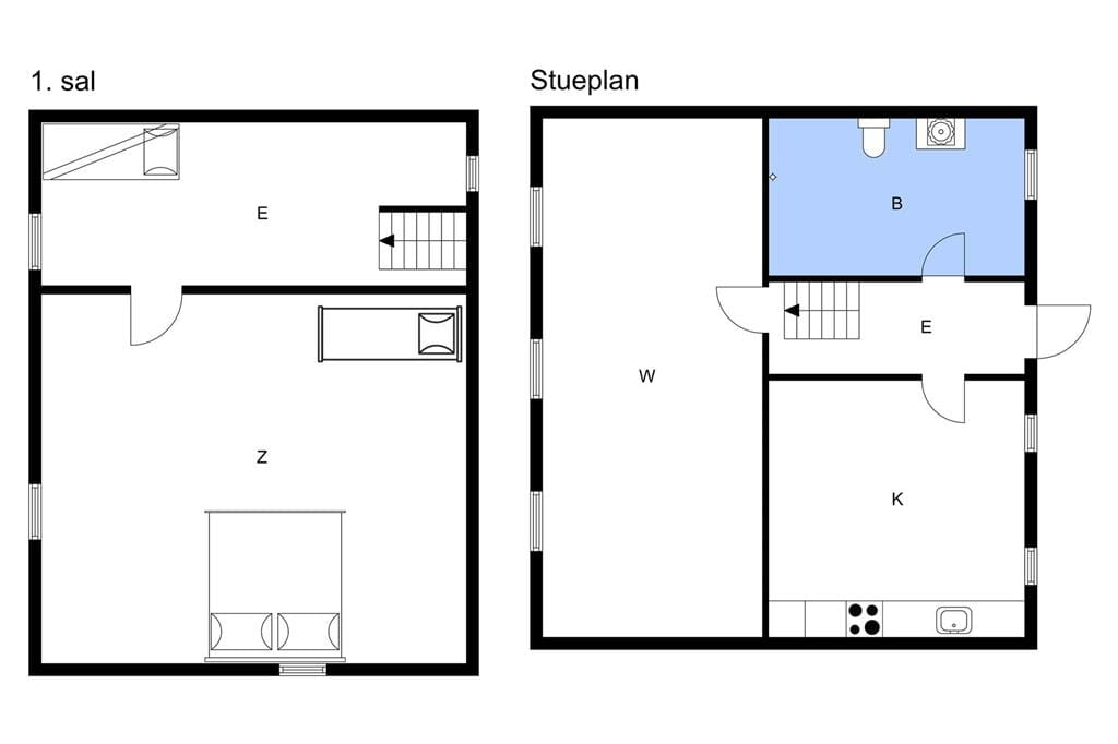 Indretning 1-3 Sommerhus M673812, Slotsgade 62, DK - 5953 Tranekær