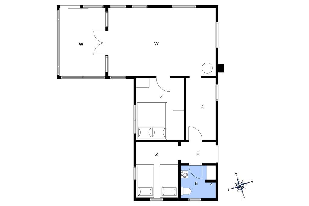 Interior 1-17 Holiday-home 10026, Rønnebærvej 9, DK - 4500 Nykøbing Sj