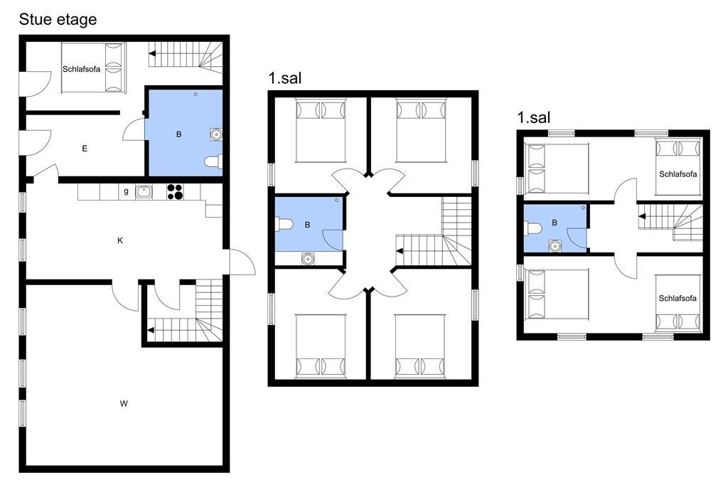 Indretning 1-3 Sommerhus M661002, Edelsmindevej 8, DK - 5700 Svendborg