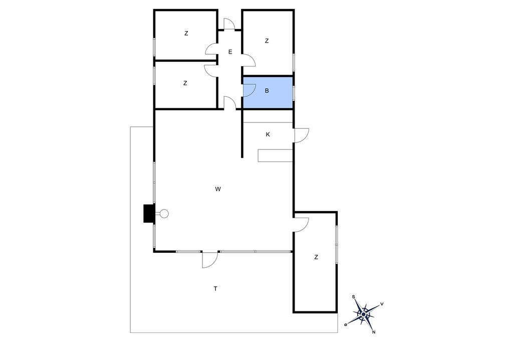 Innenausstattung 1-10 Ferienhaus 6780, Grønnedalsvej 29, DK - 3770 Allinge