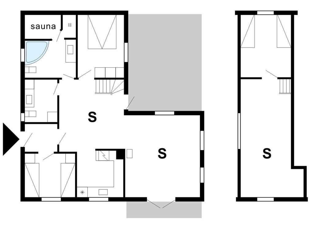 Innenausstattung 1-175 Ferienhaus 10842, Gaffelbjergvej 94, DK - 6990 Ulfborg