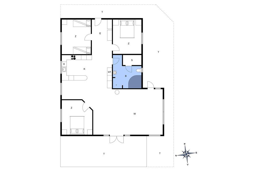 Innenausstattung 1-13 Ferienhaus 879, Pighvarvej 3, DK - 7700 Thisted