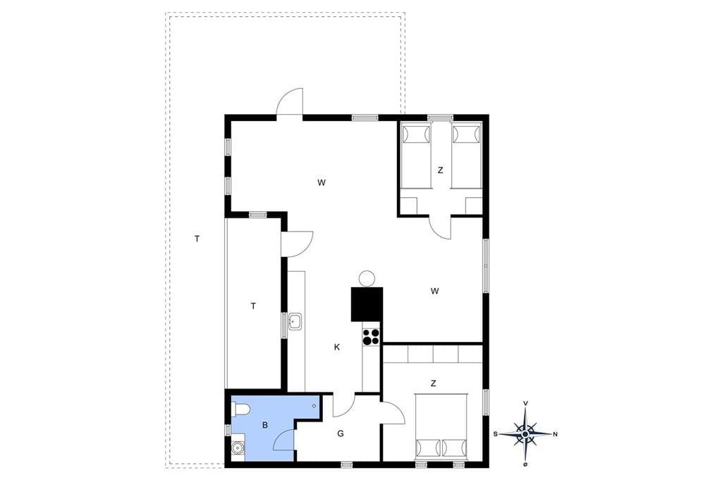 Interieur 1-148 Vakantiehuis KJ1164, Tjørneklitten 4, DK - 9850 Hirtshals