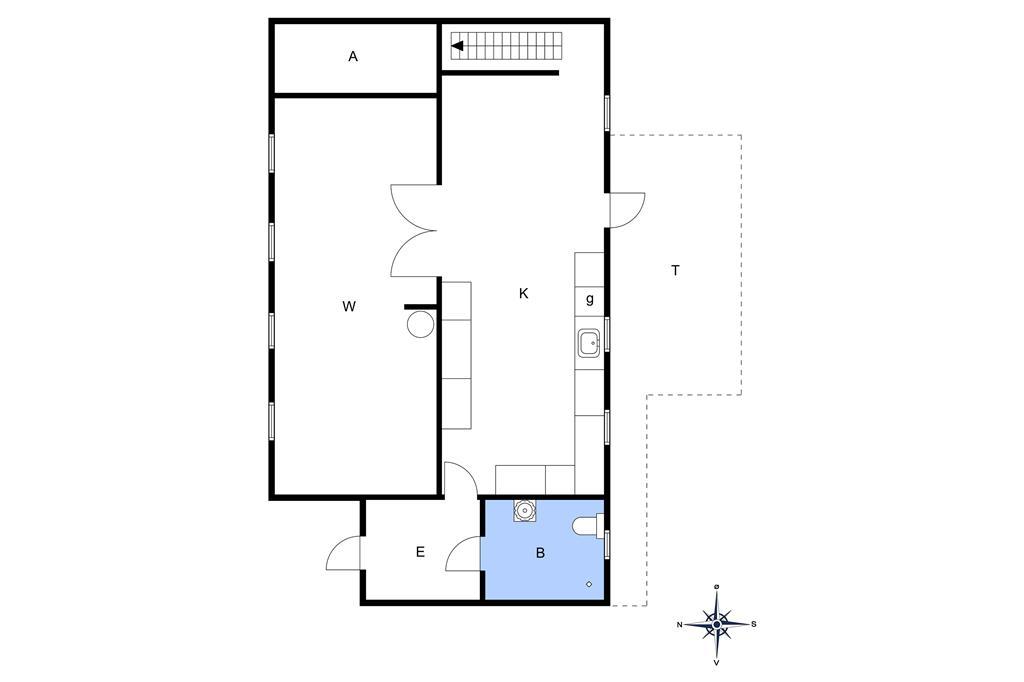 Interieur 1-10 Vakantiehuis 5600, Lindevej 3, DK - 3740 Svaneke