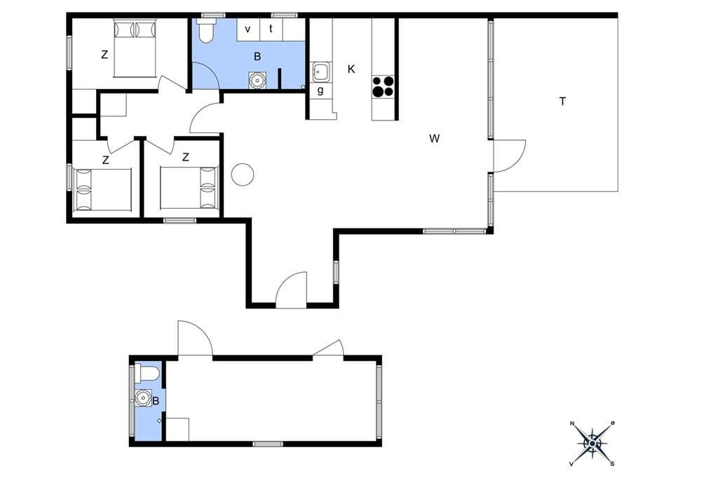 Indretning 1-13 Sommerhus 542, Kuttervej 11, DK - 7700 Thisted