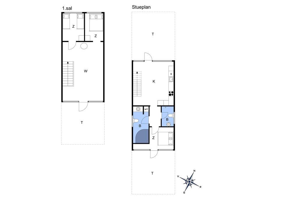"""Innenausstattung 1-22 Ferienhaus C11506, """"PRETTY WOMAN"""", Molen 13, DK - 6893 Hemmet"""