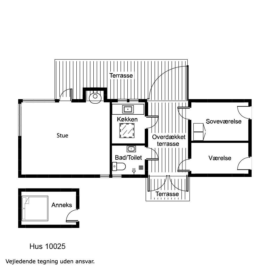 Interieur 1-17 Vakantiehuis 10025, Nørrevangsvej 43, DK - 4581 Rørvig