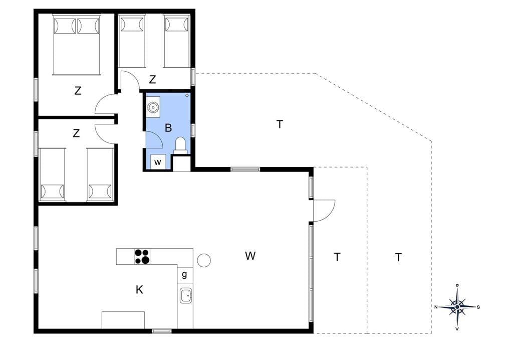 Interieur 1-13 Vakantiehuis 464, Pighvarvej 12, DK - 7700 Thisted