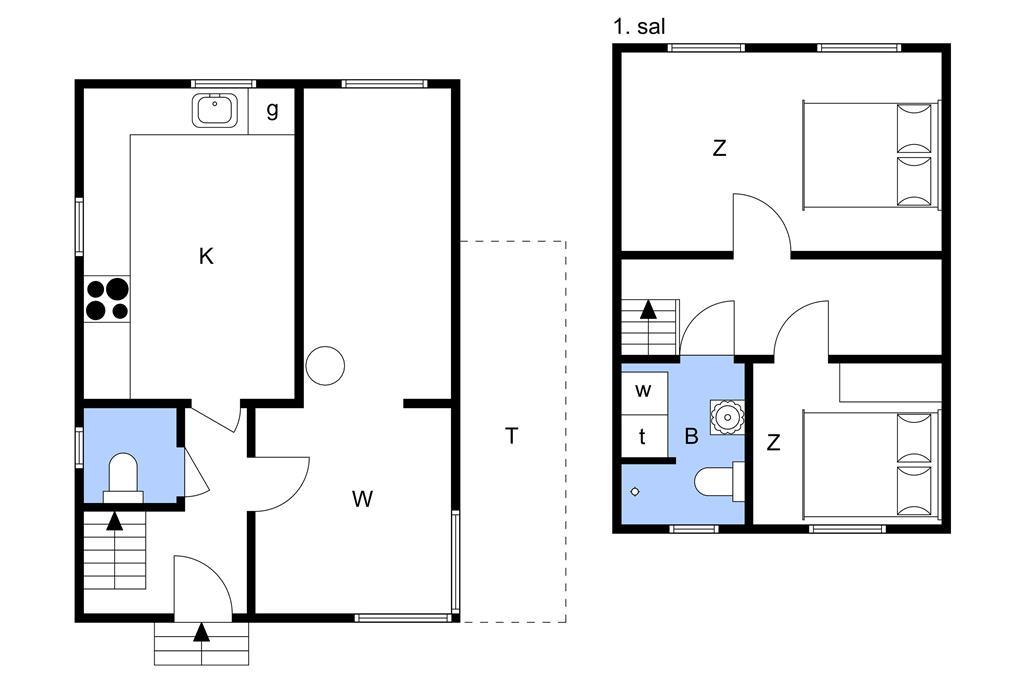 Innenausstattung 1-11 Ferienhaus 0191, Havnebyvej 91, DK - 6792 Rømø