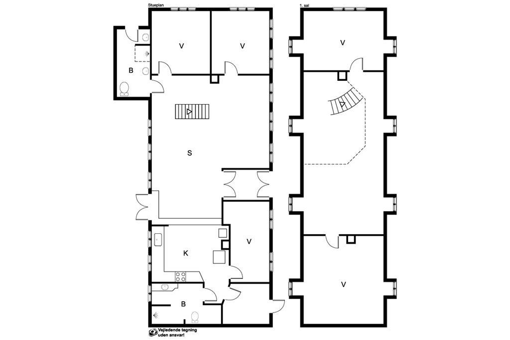 Innenausstattung 1-170 Ferienhaus 20301, Skolegade 8, DK - 8305 Samsø