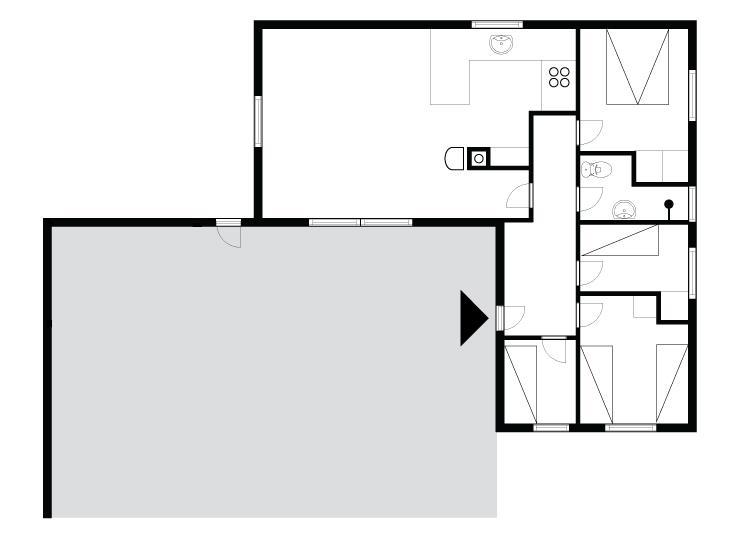 Innenausstattung 1-175 Ferienhaus 30018, Irisvej 392, DK - 6990 Ulfborg