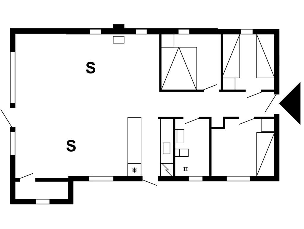 Indretning 1-175 Sommerhus 30136, Lathyrusvej 308, DK - 6990 Ulfborg