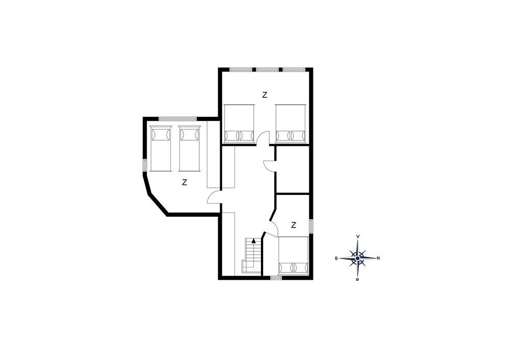 Indretning 1-10 Sommerhus 5536, Døvredalsvej 2, DK - 3730 Nexø